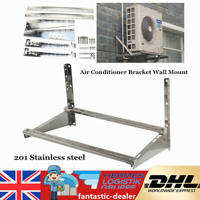 Air Conditioner Bracket Wall Mount AC Support Bracket Holder Stainless Steel UK • 59£