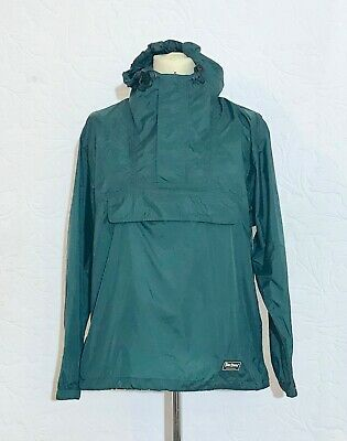 Peter Storm Vintage Mens Green Cagoule Size 38- 40 Inches Chest Hooded • 34.95£