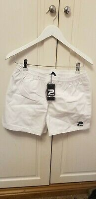 Patrick Mens Rugby Short  SN00  White, SIZE M.  BNWT ## (H3) • 11.99£
