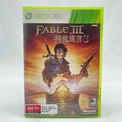 AU6.49 • Buy Fable III 3 (Microsoft Xbox 360, 2010) NTSC-J With Manual In Good Condition