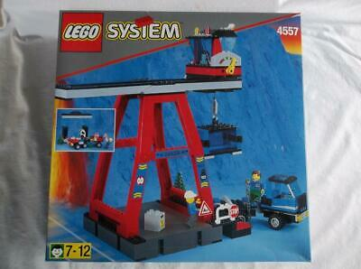 £121.97 • Buy NISB Lego System 4557 Train Freight Container Loading Center Retired 1999