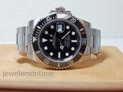 $ CDN14420.36 • Buy Rolex SS Submariner Date Ceramic 116610  Random  Serial 40mm