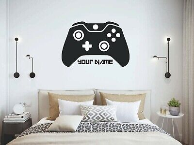 £15.99 • Buy Personalised Xbox Controller Gamer Wall Art Sticker, Childrens Bedroom XXL