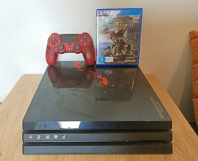 AU500 • Buy Limited Edition Monster Hunter World PS4 Pro