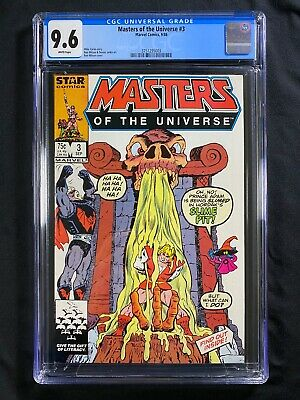 $49.99 • Buy Masters Of The Universe #3 CGC 9.6 (1986) - He-Man