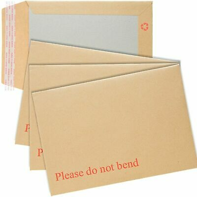 £3.69 • Buy Please Do Not Bend Hard Card Board Backed Manilla Envelopes Brown A6/a5/a4/a3