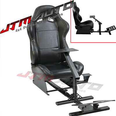 AU389 • Buy Racing Simulator Cockpit Gaming Chair W/ Stand For Logitech G27/G29/G920/T500RS