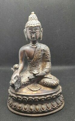 Antique Tibetan Bronze Buddha Figure  • 80£