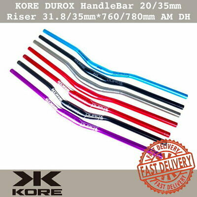 $24.90 • Buy KORE DUROX MTB Bike HandleBar 20/35mm Riser Handle Bar 31.8/35mm*760/780mm AM DH