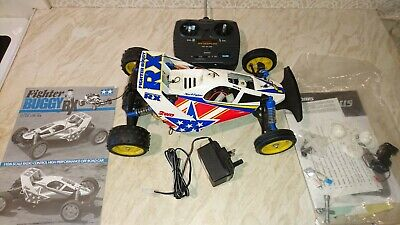 Tamiya Fighter Buggy Rx & Acoms Techniplus Remote Control Unit Both Working • 39£