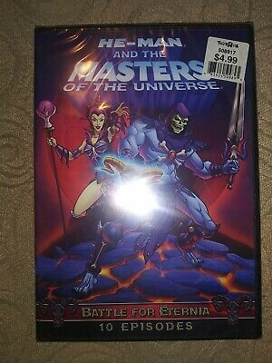 $17.99 • Buy He-Man And The Masters Of Universe: Battle Of Eternia DVD Sealed