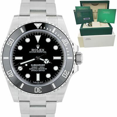 $ CDN15936.70 • Buy NEW DECEMBER 2020 Rolex Submariner 41mm No-Date Black Ceramic Watch 124060 LN