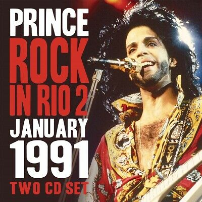 Prince - Rock In Rio 2 (2cd) - Double CD - GSF018 - NEW • 9.63£