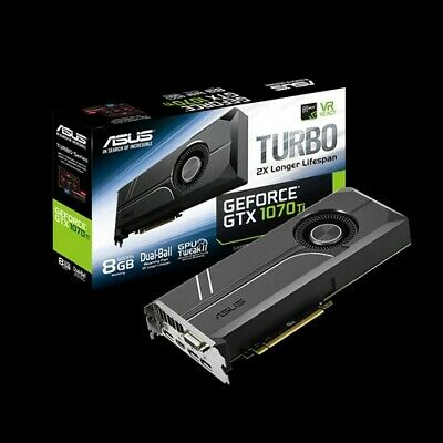 $ CDN394.25 • Buy ASUS Turbo GTX 1070 TI 8GB GDDR5 Graphics Card (TURBOGTX1070TI8G)