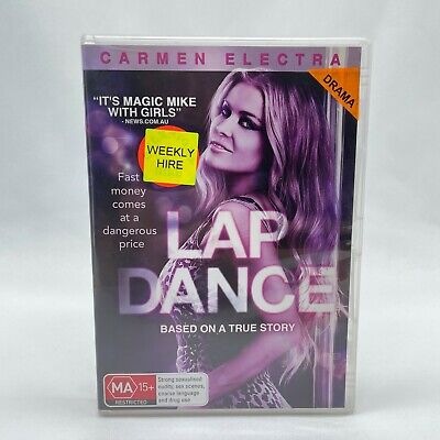 Lap Dance (DVD, 2014) Region 4 With Ali Cobrin In Good Condition • 3.90£