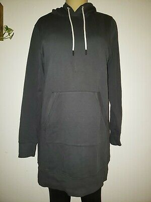 $ CDN48.21 • Buy ATHLETA  Solitude Hoodie Sweatshirt Dress Black Size Medium