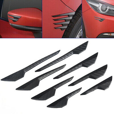 AU7.83 • Buy 8pcs Car Accessories Car Edge Protector Guard Anti Scratch Strip Bumper Sticker