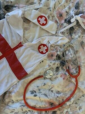 Used Nurse Outfit And Accessories • 3.99£