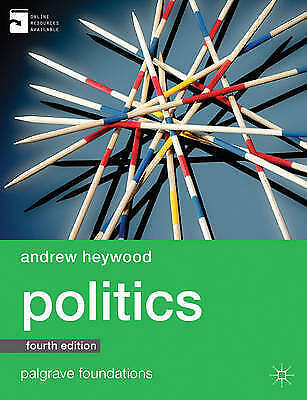 Politics (Palgrave Foundations Series) By Heywood, Andrew Book The Cheap Fast • 7.99£