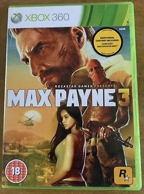 Max Payne 3 Xbox 360 - Complete 2 Disk - PAL • 0.99£