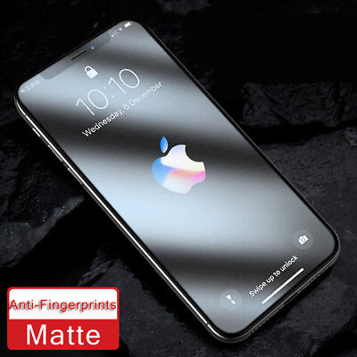 AU3.86 • Buy Anti Blue Ray Matte Glass For IPhone X XR XS 11 12 Mini Pro MAX Screen Protector