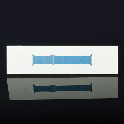 $ CDN92.82 • Buy Apple Watch 42mm 44mm Series 1 2 3 4 5 6 Leather Loop Band Cape Cod Blue L Size
