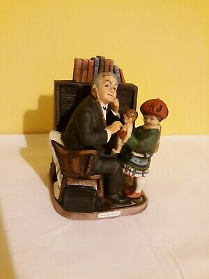 $ CDN16.58 • Buy New Dave Grossman NORMAN ROCKWELL Figurine The Doctor And The Doll Sat Eve Post