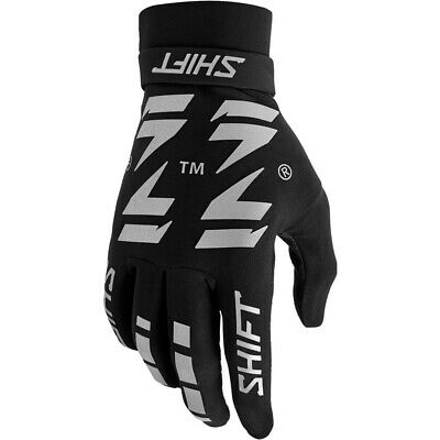 AU59.99 • Buy Shift MX 2021 3LACK Westcoast Flexguard Black/Grey Gloves