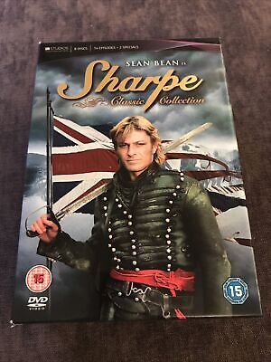 Sharpe Classic Collection - Sean Bean, New Unsealed • 12.50£
