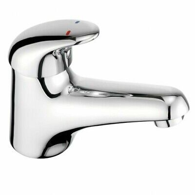 Francis Pegler Haze Mini Monobloc Basin Mixer Tap With Chain Stay • 38.99£