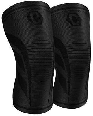$18.99 • Buy CAMBIVO 2 Pack Knee Compression Sleeve,Knee Brace For Women And Men,Knee Sup