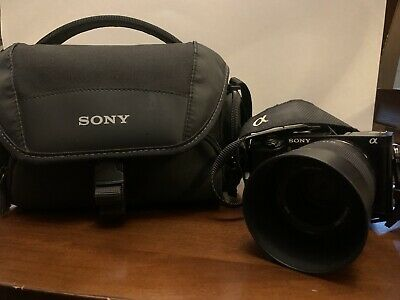 $ CDN701.75 • Buy Sony A6000 Camera W/50mm F1.8 Lens.bag And 2batteries