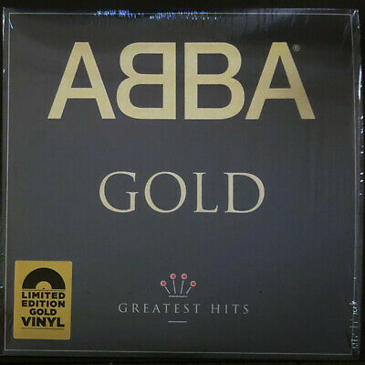 AU79.99 • Buy ABBA Gold Limited GOLD Coloured Vinyl 2 LP NEW/SEALED