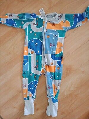 AU2.38 • Buy Baby Boys Size 0 Bonds Coverall