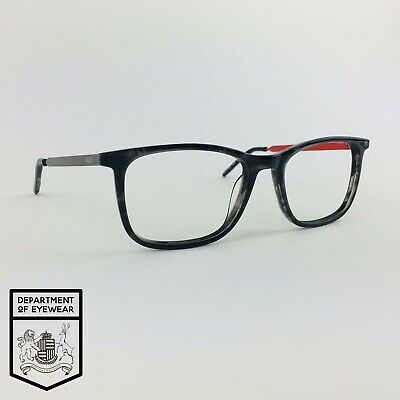 HUGO BOSS Eyeglasses MOTTLED GREY SQUARE Glasses Frame MOD: HG07 30766792 • 45£