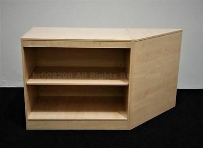 Shop Counters MAPLE  ,FREE DELIVERY, TOP QUALITY, SET OF 2 UNITS , NEW • 269.99£