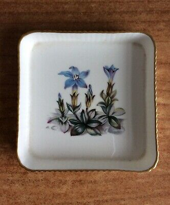 Royal Worcester Fine Bone China Square Pin/trinket Dish Preowned (pw 501) • 1.99£