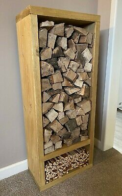 Log Store Hand Made Solid Wood • 85£