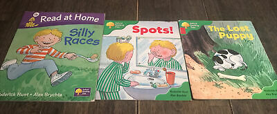 Oxford Reading Tree Stage 1&2 Bundle Books, Phonics, Spots, Lost Puppy & Races • 6£
