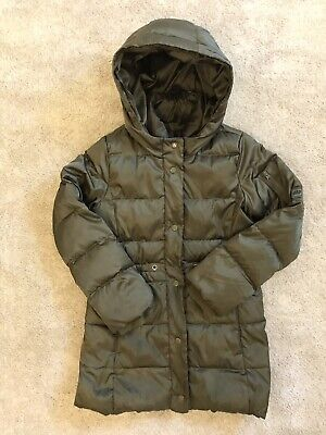 £14.99 • Buy Girls GAP Down/feather Filled Winter Coat 8-10 (137-142cm) Immaculate + FREEPOST