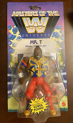 $32.94 • Buy Masters Of The WWE Universe: Mr. T  Wave 4 WWE Action Figure