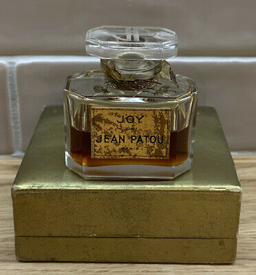 Vintage Joy De Jean Patou - Paris - Parfum - 15ml - In Original Gold Box • 27£