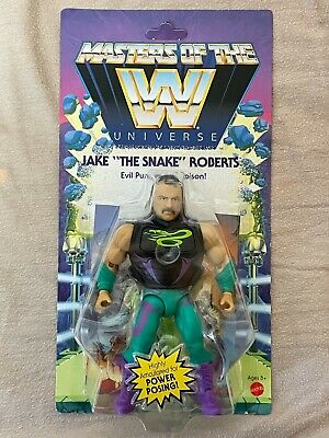 $29.98 • Buy WWE Mattel MOTU Masters Of The Universe The Jake The Snake Roberts Action Figure