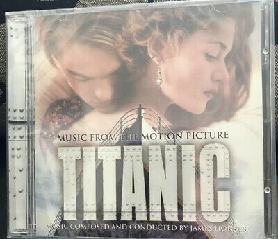 James Horner CD Titanic Ost Soundtrack. New And Sealed. • 5.99£