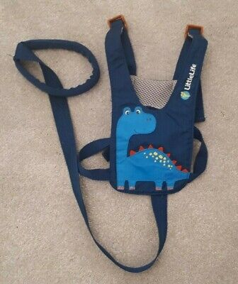 Littlelife Toddler Blue Dinosaur Reins Used Great Condition  • 2.70£
