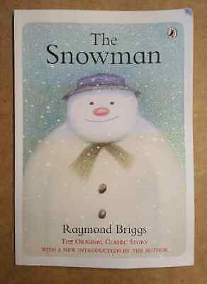 The Snowman By Raymond Briggs Paperback Picture Book • 0.99£