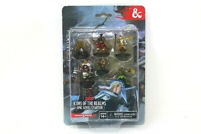 AU27.47 • Buy Dungeons And Dragons Icons Of The Realms Epic Level Starter New