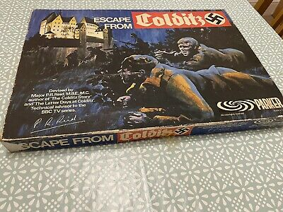 Original Escape From Colditz Board Game 1973 Parker Version • 35£