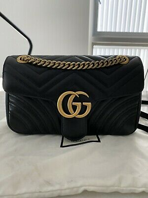 AU2100 • Buy Authentic Gucci GG Marmont Small Matelassé Shoulder Bag