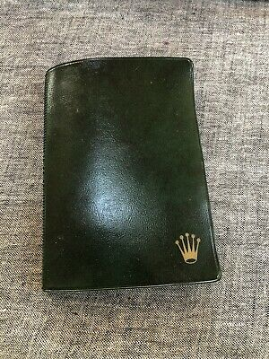 $ CDN40 • Buy Vintage Rolex 1978 Plastic Document Wallet 5513 Submariner Good Condition GMT